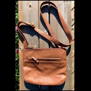 "FOSSIL ""Tessa"" Cross-Body Leather Bag 